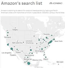 amazon black friday los angeles here are the cities that match amazon u0027s wish list for its second