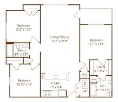 knoxville tn apartment evergreen at the bluffs floorplans