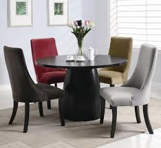 amhurst black satin wood dining table steal a sofa furniture