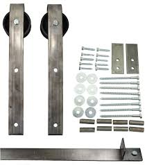free shipping sliding barn door hardware kit with 8 ft track