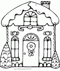 gingerbread activities free gingerbread house coloring page with