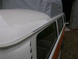 awning rail for vw t2 bay window camper essentials vw t2 bay window awning rail