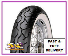 Double White Wall Motorcycle Tires 150 80 16 Whitewall Ebay