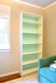 How To Make Bookcases Look Built In Design 411 U2013 This Week U0027s Tip Paint The Back Of Some Bookshelves