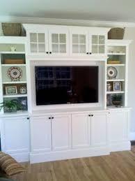 Custom Built In Entertainment Center Living Room Pinterest - Family room entertainment center ideas