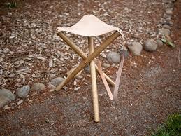 diy project tripod camping stool u2013 design sponge