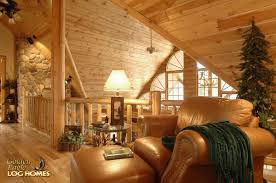 Log Floor by Double Eagle Deluxe Home Plan By Golden Eagle Log Homes