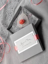 Box Wedding Invitations Custom Listing 100 Box And Lace Wedding Invitation Vintage