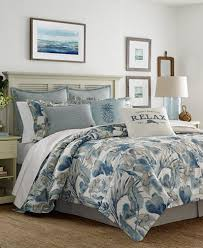 Blue And Gray Bedding Tommy Bahama Home Raw Coast Bedding Collection Bedding