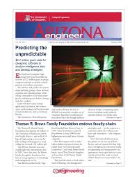 arizona engineer 2008 spring edition by university of arizona