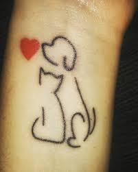tattoo cat minimalistic cat and dog tattoo venice tattoo art designs