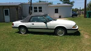 1989 ford mustang 4 cylinder 90 ford mustang white 4 cylinder convertible