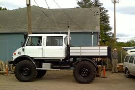 mercedes unimog truck parked cars reader 1970 mercedes unimog 416