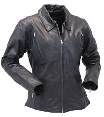 Long Body Women U0027s Motorcycle Jacket W Vents L6167vzk