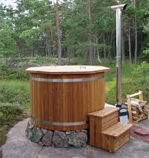 Wood Fired Bathtub Wood Fired Tubs And Barrel Saunas From Spadealers We Sell