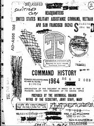 mand History 1964 Vietnam War