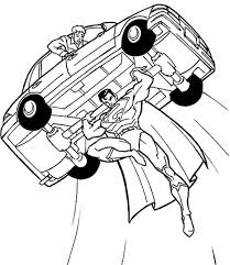 coloring book pages superman 124 olivias 7th bday images
