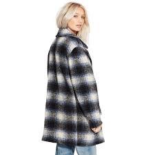 denim u0026 supply ralph lauren tartan hunting jacket in black lyst