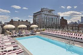 best nyc hotels with jacuzzis in rooms including rooftop spas