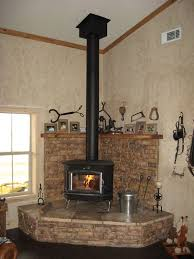 Fireplace Pipe For Wood Burn by Best 25 Corner Wood Stove Ideas On Pinterest Wood Stove Decor