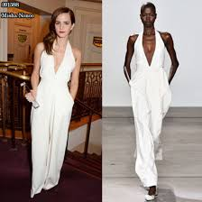 white formal jumpsuit formal white jumpsuit tulips clothing