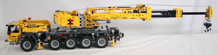 lego technic bucket wheel excavator lego review 42009 mobile crane mkii rebrickable build with lego