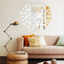 Mirror Wall Decor by Online Get Cheap Leaf Wall Decals Aliexpress Com Alibaba Group
