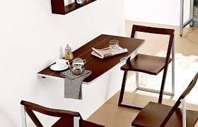 table attached to wall how to wall mounted table home designs insight