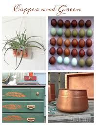 7 ways to love copper and green decor inspiration