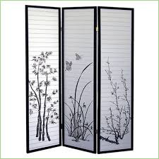 3 panel screen room divider best products forbes ave suites