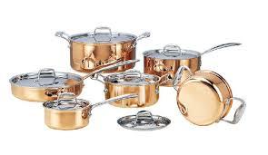 ustensiles de cuisine en cuivre cuisson outils dhl livraison gratuite acier inoxydable casseroles en