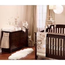 Woodland Nursery Bedding Set by Koala Baby B Is For Bear 4 Piece Crib Bedding Set Tan Koala