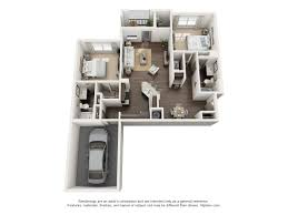 Charleston Floor Plan by Avenues At Verdier Pointe Luxury Apartments In Charleston South