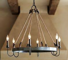 Potterybarn Chandelier Big But Not Blocking Bold And Yet Beautiful 449 00 Pottery Barn