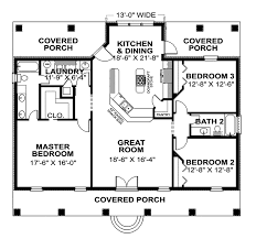 small house floor plans with porches cabin and cottage plan floor 028d 0060 house plans and