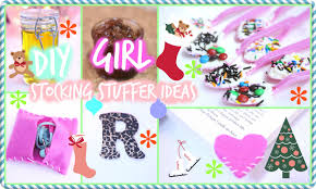 Ideas For Stocking Stuffers Diy Stocking Stuffers For Girls Youtube
