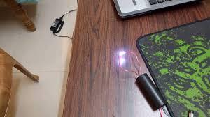 Ebay Laminate Flooring High Voltage Spark From Ebay 400kv Module Youtube