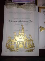 disney wedding invitation hand carved rubber stamp of sleeping