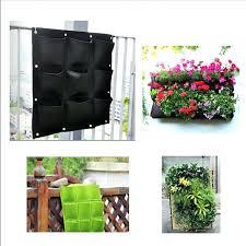 100 vertical wall planters worth garden 18 in terracotta