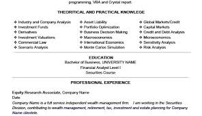 michael yao fu equity research resume objective resume objective