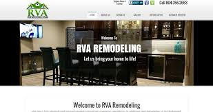 Home Renovation Websites Web Design Richmond Va Website Builders 804 740 0150