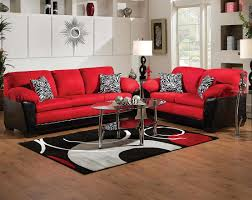 red and black living room set white brown solid wood credenza