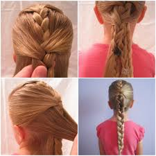 Hairstyles Easy And Quick by Ten Quick And Easy Hairstyles For Your Daughter Which Even Dad Can Do