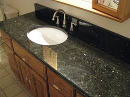 white sink black countertop bathroom interesting vanity countertops for bathroom decor idea