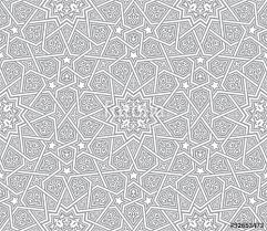 islamic ornament grey vector background stock image and royalty