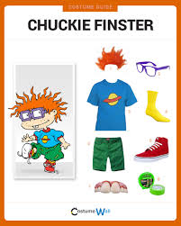 chucky costume spirit halloween dress like chuckie finster rugrats costumes and halloween costumes