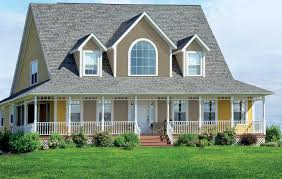 100 yellow exterior paint colors dark grey with orange trim