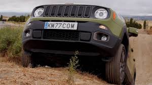 tan jeep renegade jeep renegade 2015 conducción todoterreno km77 com youtube