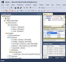 Teradata Create Table Teradata Developer Tools Visual Studio Marketplace