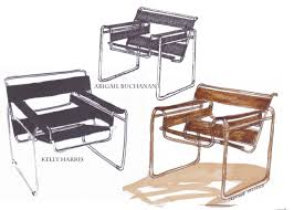 furniture interesting design of wassily chair for inspiring